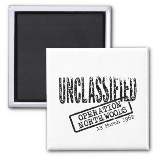 Operation Northwoods 2 Inch Square Magnet