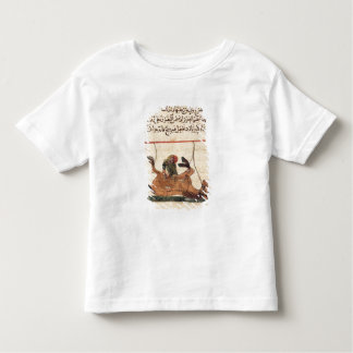 Operation on a horse, illustration shirt