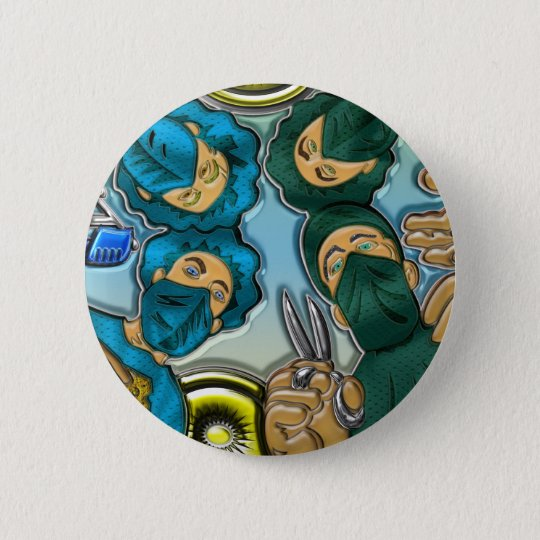 Operation or Surgery Pinback Button