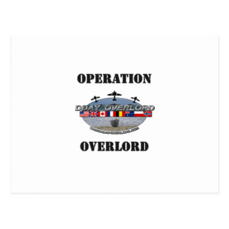 Operation Overlord 1944 Postcard