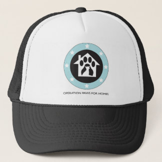 Operation Paws for Homes Dog Rescue - Hat with Log