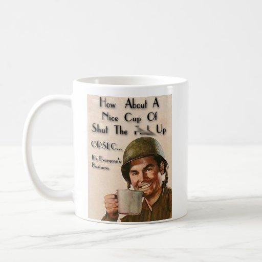 OPERATION PMF - stfu-cup Classic White Coffee Mug