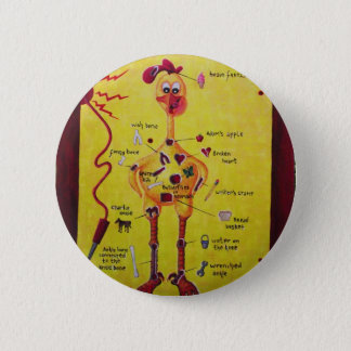 Operation Rubber Chicken Pinback Button