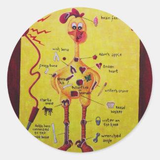 Operation Rubber Chicken Sticker