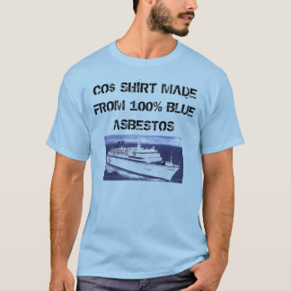 Operation Sea Arrrgh Blue Asbestos Shirt