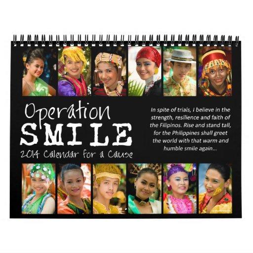 Operation Smile 2014 Quote Calendar