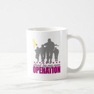OPERATION ,STAND BY MY MAN CLASSIC WHITE COFFEE MUG