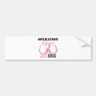 Operation Support 2nd Base.png Bumper Sticker