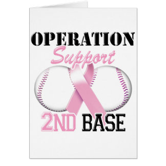 Operation Support 2nd Base.png Greeting Card