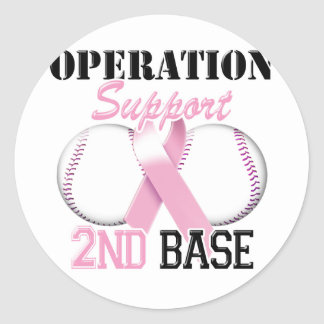 Operation Support 2nd Base.png Classic Round Sticker