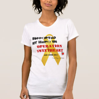 Operation Sweetheart Heart Tshirts