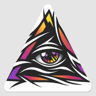 "Operation ""The Watchers"" Triangle Sticker"