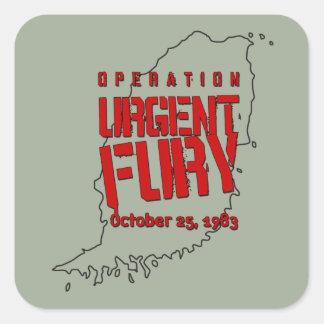 Operation Urgent Fury Square Sticker