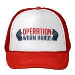 Operation Warm Hands Mesh Hats