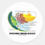 Operational Innards Revealed (Cell Biology) Sticker