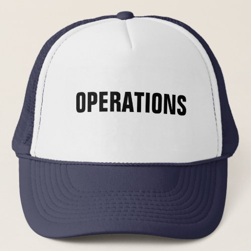 Operations Hat