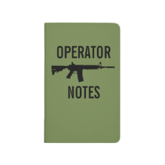 OPERATOR NOTES - M4 JOURNAL