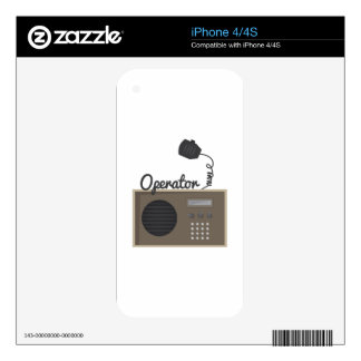Operator Skins For iPhone 4