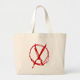 Operator Symbol Jumbo Tote Bag