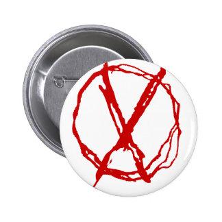 Operator Symbol Pinback Button