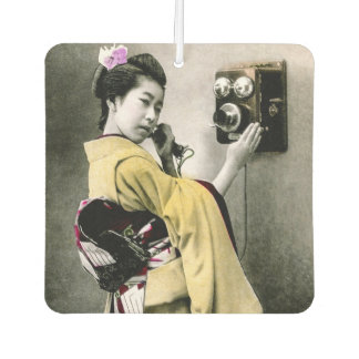 Operator Wont You Help Me Make This Call Geisha Air Freshener