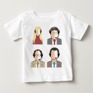 Operators with headsets baby T-Shirt