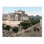 Opernhaus, Opera House, Leipzig, Germany Post Card