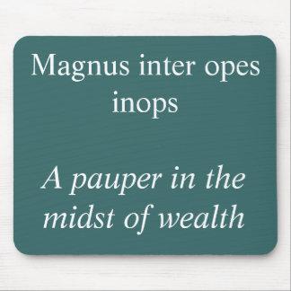 Opes interes de Magnus Tapetes De Ratón