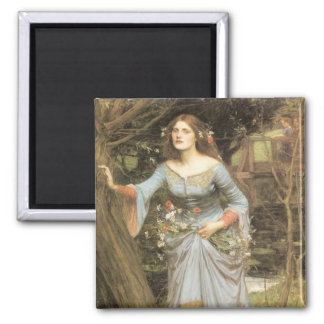 Ophelia (1905) 2 inch square magnet