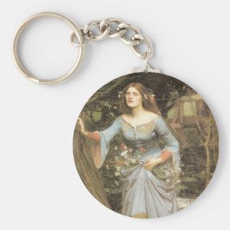 Ophelia (1905) basic round button keychain