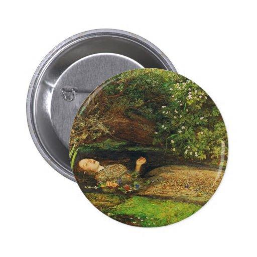 Ophelia 2 Inch Round Button
