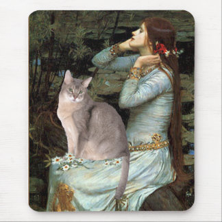 Ophelia - Abyssinian (blue 21) Mouse Pad