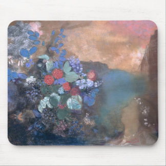 Ophelia among the Flowers, c.1905-8 Mouse Pad