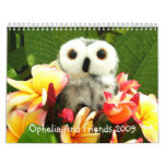 Ophelia And Friends 2009 Wall Calendars