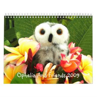 Ophelia And Friends 2009 Calendar