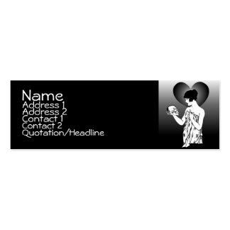 Ophelia And Yorick Fade Profile Cards Business Card