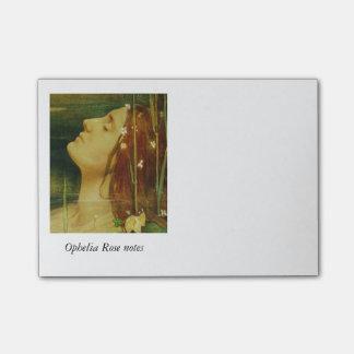Ophelia Asleep Among Flowers Post-it® Notes