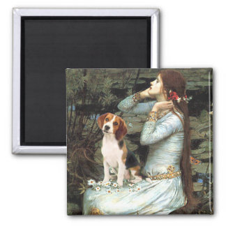 Ophelia-Beagle1 Fridge Magnet
