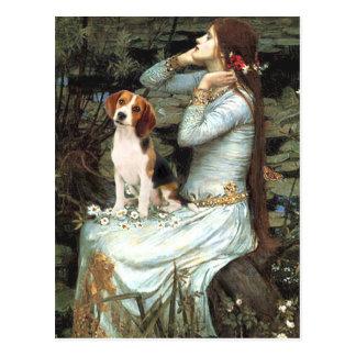 Ophelia-Beagle1 Post Card
