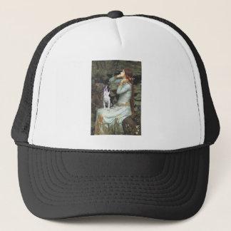 Ophelia &- Boston Terrier Trucker Hat