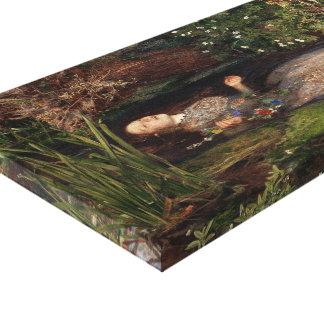 Ophelia by John Everett Millais Canvas Print