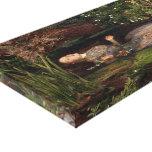 Ophelia by John Everett Millais Canvas Prints