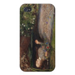 Ophelia by John Everett Millais iPhone 4 Covers