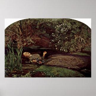 Ophelia by John Everett Millais Print