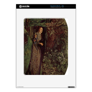Ophelia by John Everett Millais Decals For iPad