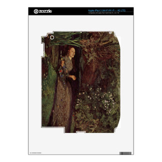 Ophelia by John Everett Millais iPad 3 Decal