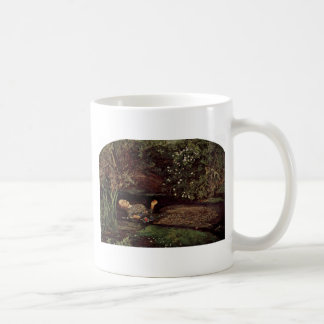 Ophelia By Millais, John Everett (Best Quality) Classic White Coffee Mug