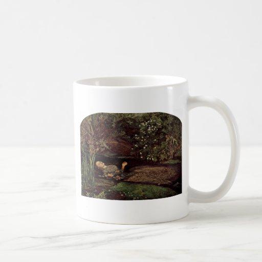 Ophelia By Millais, John Everett (Best Quality) Coffee Mug