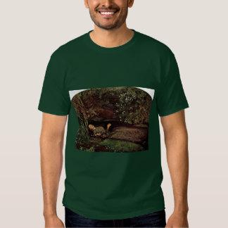 Ophelia By Millais, John Everett (Best Quality) Shirts