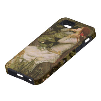 Ophelia (By The Pond) JW Waterhouse, Victorian Art iPhone 5 Cases
